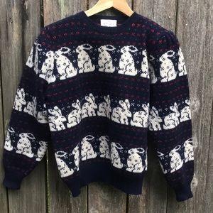 Susan Bristol M wool sweater